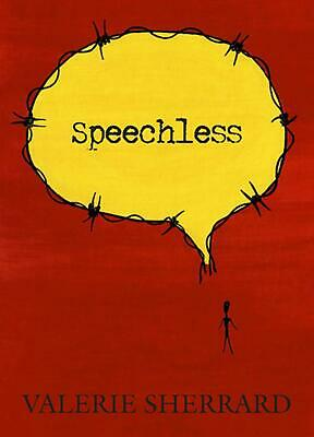Speechless by Valerie Sherrard (English) Paperback Book Free Shipping!