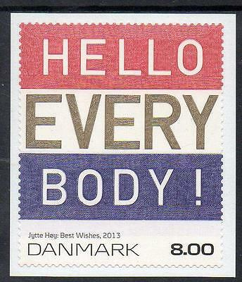 Denmark MNH 2013 Art on Stamps - Hello Every Body