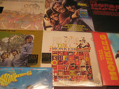 Monkees Rare 1996 1St Edition 180 Gram Limited 4 Lp Set + 8 180 Gram Bonus Lp's