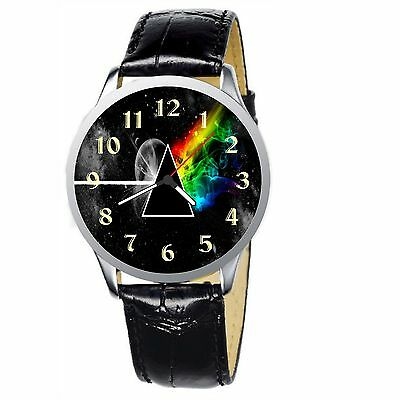 Stylized The Dark Side Of The Moon Stainless Wrist Watch Wristwatches