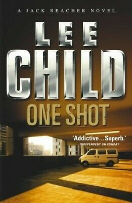 One Shot by Child, Lee Hardback Book The Cheap Fast Free Post