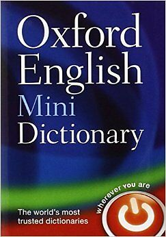 Oxford English Mini Dictionary New Paperback Book Oxford Dictionaries