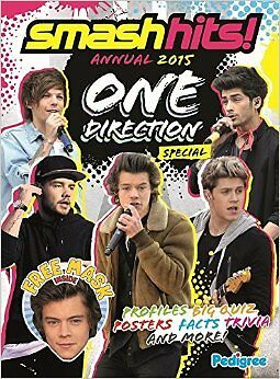 Smash Hits One Direction Annual 2015 New Hardcover Book Pedigree Books Ltd