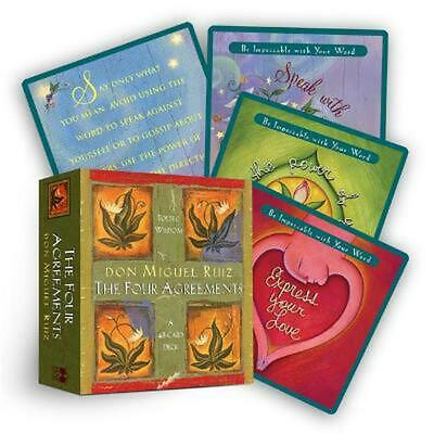 Four Agreements Cards by Don Miguel Ruiz (English) Free Shipping!