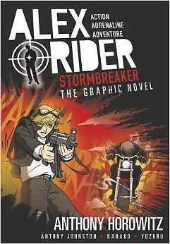 Stormbreaker: The Graphic Novel New Paperback Book Anthony Horowitz