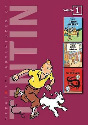 The Adventures of Tintin: Volume 1 by Herge Hardcover Book (English)