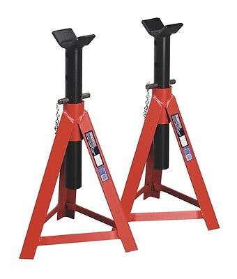 SEALEY AS5000M Axle Stands (Pair) 5tonne Capacity per Stand Medium Height