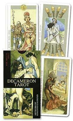 Decameron Tarot Deck: Boxed 78-Card Set [With Instruction Booklet] [With Instruc