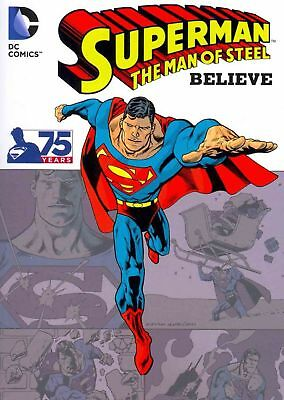 Superman the Man of Steel: Believe by Paperback Book (English)