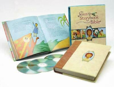 The Jesus Storybook Bible Deluxe Edition: With CDs by Sally Lloyd-Jones (English