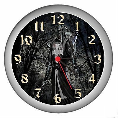 Black Knight Room Decor Wall Clock