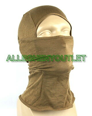 US Military USMC Coyote Brown Lightweight Frog Hood NEW