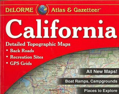 California Atlas & Gazetteer by Delorme Mapping Company Paperback Book (English)