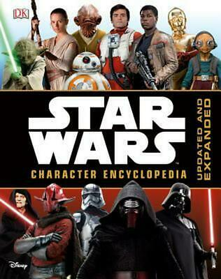 Star Wars Character Encyclopedia by DK Publishing Hardcover Book (English)