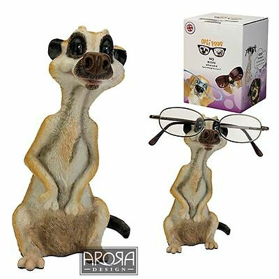 Optipaws Meerkat Glasses Holder Ornament Figurine NEW in Box - 24324