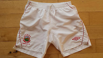 Linfield Fc Northern Ireland Umbro Shorts Size Adult Small