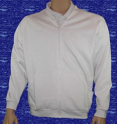 CATHEDRAL Mens Jersey Fleece White Soft Fabric Zip Up Jacket Ex Display 2016
