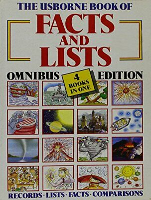 The Usborne Book of Facts and Lists Omnibus Edition ... by Struan Reid Paperback