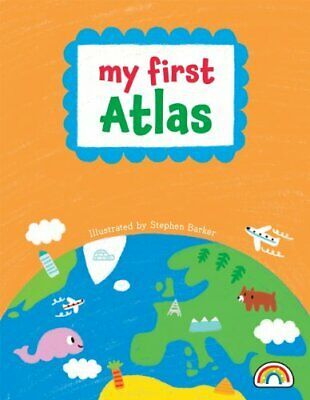 My First Atlas by Philip Dauncey Book The Cheap Fast Free Post