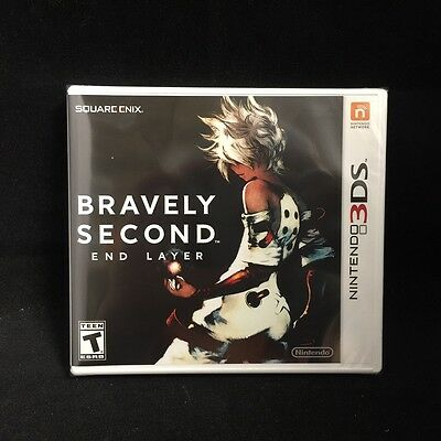 Bravely Second: End Layer (Nintendo 3DS, 2016) BRAND NEW