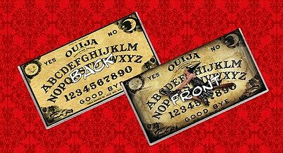 Ouija Board Game Wicca Psychic Paranormal Witch Vinyl Checkbook Cover