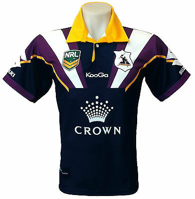 Melbourne Storms Men's Jersey NRL Rugby League - Half Price, Two Styles