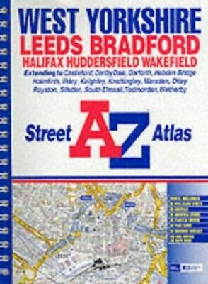 A-Z West Yorkshire Street Atlas, Geographers' A-Z Map Company Paperback Book The