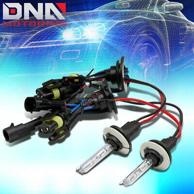 9006 8000K Xenon Gas Hid Cool Blue Low Beam Head Light/35W Bulb For Olds Saturn