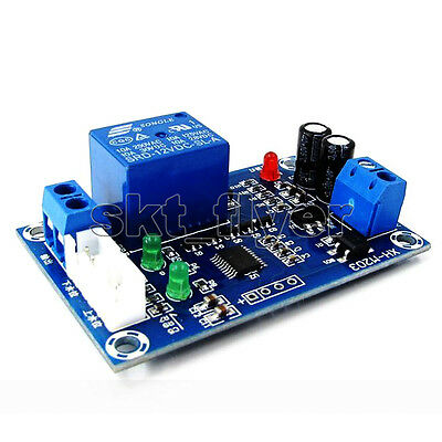 AC/DC 12V Auto Liquid Level Controller Switch Module Water Detection Sensor