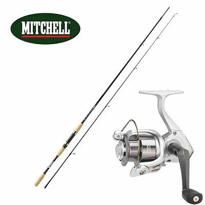 KP1934 Kit Canna Pesca Spinning Mitchell Tanager 2.70 mt + Mulinello 3000   RN