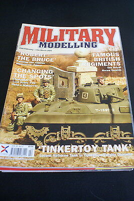 MILITARY MODELLING 25 feb-17 March 2005. Royal Horse Guards/Trumpeter 1.16