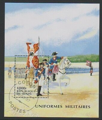 Benin - 1997 Military Uniforms sheet - F/U - SG MS1606