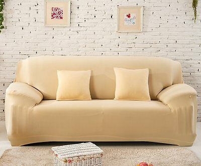 Home Furniture Chair Covers Stretch Sofa Cover 1 2 3 Couch Protector Slipcovers