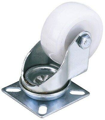 Draper 65497 Swivel Plate Fixing Nylon Wheel