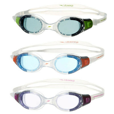 Speedo Futura Biofuse Junior Swimming Goggles - Choice of 3 colours rrp£16