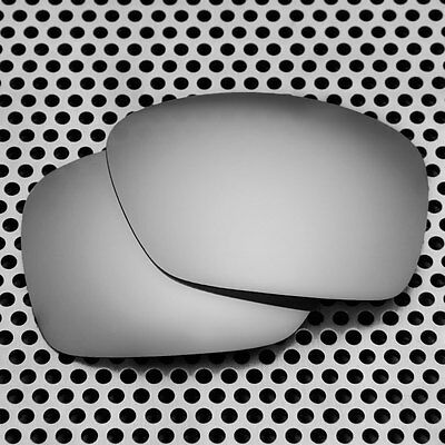 New Volt Polarized Silver Replacement Lenses for Oakley Plaintiff Squared