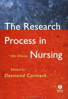 The Research Process in Nursing: Fourth Edition Paperback Book The Cheap Fast