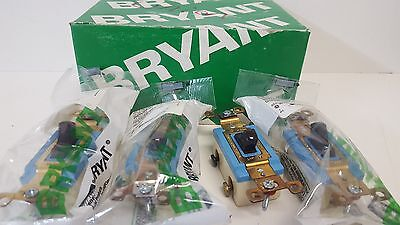Box Of (4) New Old Stock! Bryant Toggle Switches 4803