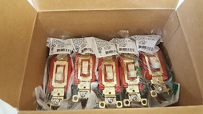 Box Of (10) New Old Stock! Bryant Toggle Switches 4903-I