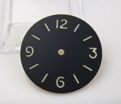 35MM Sandwich watch dial Super luminescent without LOGO Suitable for ETA6497
