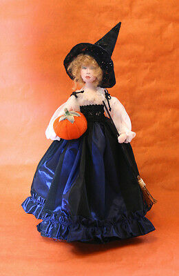 "*new* Cloth Art Doll Pattern ""sonja, Witch Of The Forest"" By Sylvia Schorr"