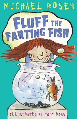 Fluff the Farting Fish New Paperback Book Tony Ross