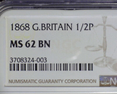 Great Britain 1900 One Penny Ngc Ms 64 Bn