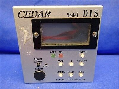 Cedar Model Dis Digital Torque Tester Display Only