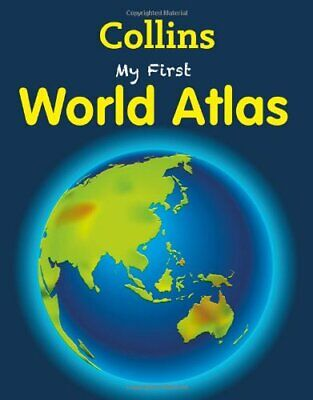 My First World Atlas (My First), Collins Book The Cheap Fast Free Post