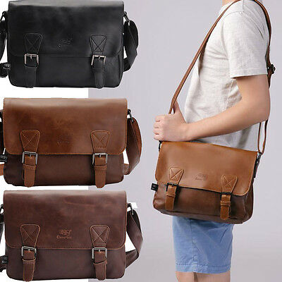 mode herren vintage handtasche aktentasche schultertasche laptop messengertasche eur 23 99. Black Bedroom Furniture Sets. Home Design Ideas