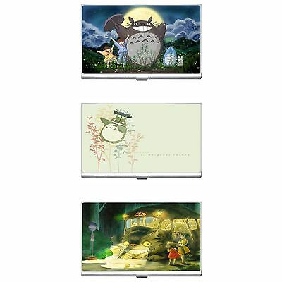 My Neighbor Totoro Metal Business Credit Card Case Holder New