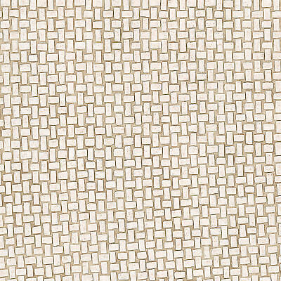 "Trompe l'oeil Blocks 33' x 20.5"" Brick 3D Embossed Wallpaper"