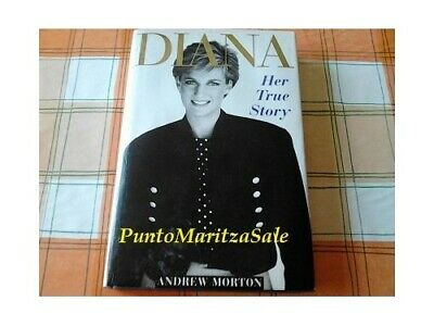 Diana: Her True Story by Morton, Andrew Hardback Book The Cheap Fast Free Post