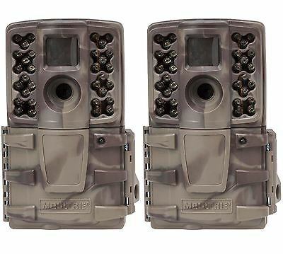 (2) Moultrie No Glow Invisible 12 MP Mini A20i Infrared Game Cameras | A-20i